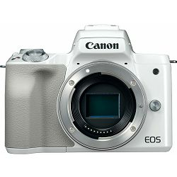 Canon EOS M50 Body White Mirrorless Digital Camera bijeli Digitalni fotoaparat tijelo (2681C063AA) - GETREADY