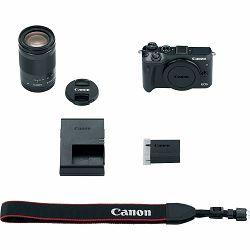 Canon EOS M6 + 18-150 IS STM Black Mirrorless Digitalni fotoaparat i objektiv EF-M 18-150mm f/3.5-6.3 (1724C022AA)