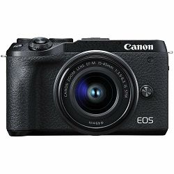 Canon EOS M6 Mark II + 15-45 IS STM + EVF (3611C053AA)