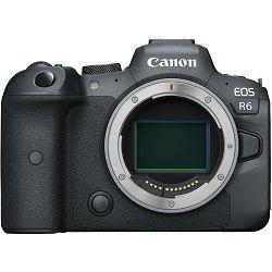 Canon EOS R6 Body Mirrorless Digital Camera bezrcalni digitalni fotoaparat tijelo (4082C044AA)