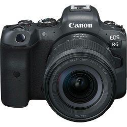 Canon EOS R6 + RF 24-105mm f/4-7.1 IS STM Mirrorless Digital Camera bezrcalni digitalni fotoaparat s objektivom (4082C046AA)