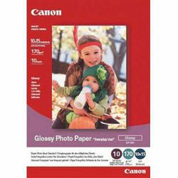Canon Glossy Photo Paper Everyday Use GP-501 10x15cm 10 listova foto papir za ispis fotografije Gloss 200gsm ISO96 0.21mm 4x6