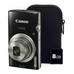 Canon IXUS 177 KIT Black EU23 digitalni fotoaparat 1144C004AA Digital Camera