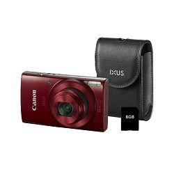 Canon IXUS 180 KIT Red EU23 digitalni fotoaparat 1088C011AA Digital Camera
