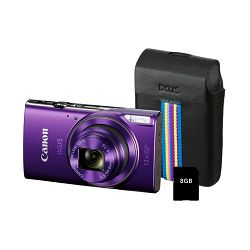 Canon IXUS 285HS KIT Purple EU23 digitalni fotoaparat 1082C008AA Digital Camera