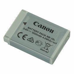 Canon NB-13L 1250mAh 4.5Wh 3.6V baterija za PowerShot G7x II, G9x II, G5x, G3x, G7x, G9x Lithium-Ion Battery Pack (9839B001AA)