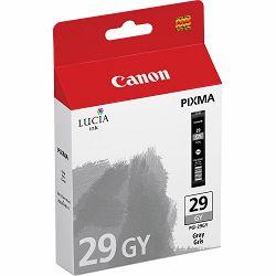 Canon PGI-29 GY Gray Ink Tank tinta za Pixma PRO 1 Inkjet printer