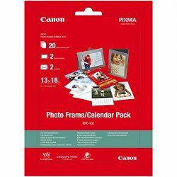 Canon Photo Paper Frame Calendar Pack PFC-101 13x18cm 20 listova foto papir za ispis fotografije na kalendar Glossy 275gsm 20 sheets PFC101 (BS2311B054AA)