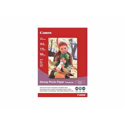 Canon Photo Paper Glossy Everyday Use GP-501 21x29.7cm 100 listova foto papir za ispis fotografije Gloss 200gsm ISO96 0.21mm A4 100 sheets GP501A4 (BS0775B001AA)