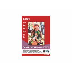 Canon Photo Paper Glossy Everyday Use GP-501 21x29.7cm 100 listova foto papir za ispis fotografije Gloss 200gsm ISO96 0.21mm A4 100 sheets GP501A4 (BS0775B001AA)