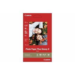 Canon Photo Paper Plus Glossy II PP-201 10x15cm 50 listova foto papir za ispis fotografije Gloss 265gsm ISO92 0.27mm 4X6