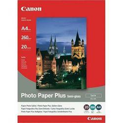 Canon Photo Paper Plus Glossy II PP-201 13x18cm 20 listova foto papir za ispis fotografije Gloss 265gsm ISO92 0.27mm 5X7