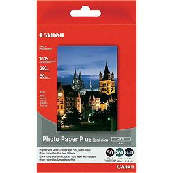 Canon Photo Paper Plus Semi-gloss SG-201 10x15cm 50 listova foto papir za ispis fotografije Satin 260gsm ISO91 4x6