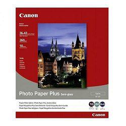 Canon Photo Paper Plus Semi-gloss SG-201 36x43cm 10 listova foto papir za ispis fotografije Satin 260gsm ISO91 14x17