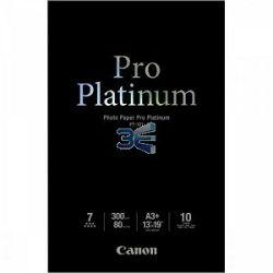 Canon Photo Paper Pro Platinum PT-101 32.9x48.3cm A3+ 10 listova foto papir za ispis fotografije Smooth gloss 300gsm ISO98 0.3mm A3+ 10 sheets PT101A3+ (BS2768B018AA)