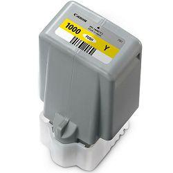 Canon Pigment Ink Tank PFI-1000 Lucia PRO Yellow 80ml PFI1000Y žuta tinta za printer imagePROGRAF PRO-1000 (0549C001AA)