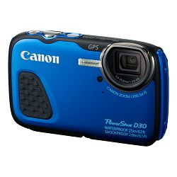 Canon Powershot D30 Blue plavi vodootporni digitalni fotoaparat Waterproof Digital Camera AJ9337B002AA