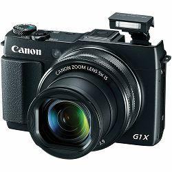 Canon Powershot G1X II KIT kompaktni digitalni fotoaparat G1-X Mark II + Elektronsko tražilo EVF-DC1 + kožna torbica (9167B025AA)