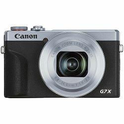 Canon PowerShot G7X III Battery KIT Silver kompaktni digitalni fotoaparat G7X G7 X Mark MK3 (3638C016AA)