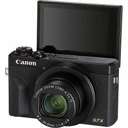 Canon PowerShot G7X III Black kompaktni digitalni fotoaparat G7X G7 X Mark MK3 (3637C013AA) - CB PROMOTION