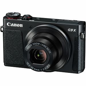 Canon PowerShot G9X Black crni digitalni fotoaparat 20,2MP 3x G9 x zoom digital camera