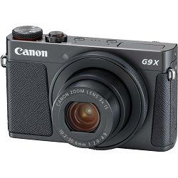 Canon Powershot G9X II Black crni kompaktni digitalni fotoaparat (1717C002AA) - CASH BACK promocija povrat novca u iznosu 300 kn
