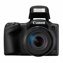 Canon Powershot SX432 IS Black crni digitalni kompaktni fotoaparat SX432IS