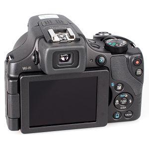 Canon PowerShot SX60 HS kompaktni digitalni fotoaparat SX60HS ultrazoom 65x s integriranim objektivom 3.8-247mm f/3.4-6.5 USM (9543B002AA)