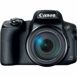 Canon PowerShot SX70 HS kompaktni digitalni fotoaparat SX70HS ultrazoom 65x s integriranim objektivom 3.8-247mm f/3.4-6.5 IS (3071C002AA)