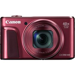 Canon Powershot SX720 HS Red crveni SX720HS 40x zoom WiFi FullHD digitalni fotoaparat AJ1071C002AA