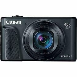 Canon PowerShot SX740 HS Black crni kompaktni digitalni fotoaparat 4K 40x zoom (2955C002AA)- CASH BACK