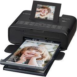 Canon Selphy CP1200 Black crni termalni sublimacijski printer Wireless Compact Photo termosublimacijski pisač (0599C002AA) - CASH BACK promocija povrat novca u iznosu 75 kn