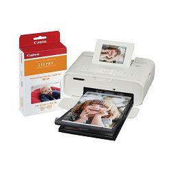 Canon Selphy CP1200 KIT White bijeli termalni sublimacijski printer termalni pisač 0600C012AA Wireless Compact Photo Printer - GetReady AKCIJA