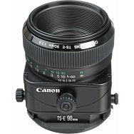 Canon TS-E 90mm f/2.8 tilt shift objektiv lens TS 90 2.8 f2.8 1:2,8 W/Case & Hood (2544A016AA)