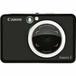 Canon Zoemini S Matt Black Instant fotoaparat s trenutnim ispisom fotografije (3879C005AA)