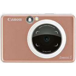 Canon Zoemini S Rose Gold Instant fotoaparat s trenutnim ispisom fotografije (3879C007AA)