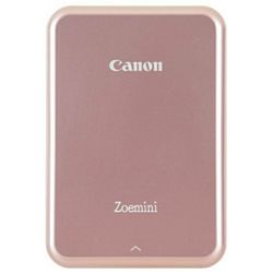 Canon Zoemini Zink Mini Mobile Photo Printer Rose Gold White (3204C004AA)