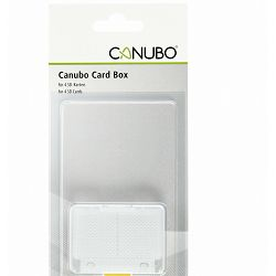 Canubo SD Card Box transparent for 4 SD Cards kutijica za 4x SD kartice (CB8031662)
