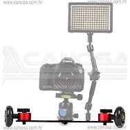 Capa Cinema Skater DSLR Dolly System CA0771 video stabilizator