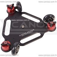Capa Cinema Skater DSLR Dolly System CA0771 video stabilizator