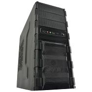 Case Midi ATX Gamer Akyga AKY001BK colorFan/12cm w/o PSU