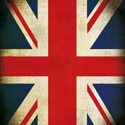 Click Props Background Vinyl with Print Union Jack 1,52x1,52m studijska foto pozadina s grafikom