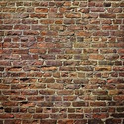 Click Props Background Vinyl with Print Brick Natural 1,52x1,52m studijska foto pozadina s grafikom