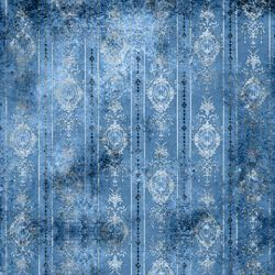 Click Props Background Vinyl with Print Distressed Wallpaper Blue 1,52x1,52m studijska foto pozadina s grafikom