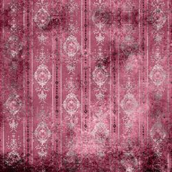 Click Props Background Vinyl with Print Distressed Wallpaper Pink 1,52x1,52m studijska foto pozadina s grafikom