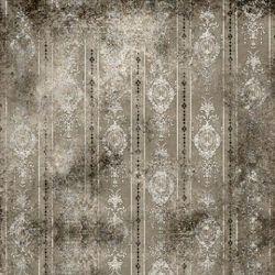 Click Props Background Vinyl with Print Distressed Wallpaper Grey 1,52x1,52m studijska foto pozadina s grafikom