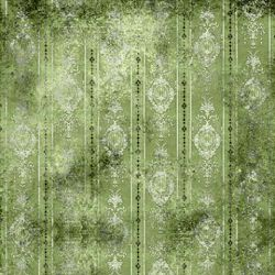 Click Props Background Vinyl with Print Distressed Wallpaper Green 1,52x1,52m studijska foto pozadina s grafikom