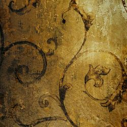 Click Props Background Vinyl with Print Gold 1,52x1,52m studijska foto pozadina s grafikom