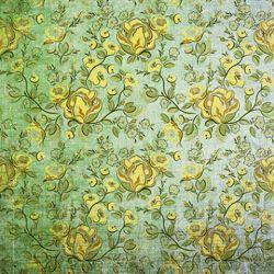 Click Props Background Vinyl with Print Rose Yellow 1,52x1,52m studijska foto pozadina s grafikom