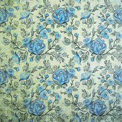 Click Props Background Vinyl with Print Rose Blue 1,52x1,52m studijska foto pozadina s grafikom